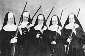 Sister Mary Catherine and her team of expert PMs are here to make sure you do your timesheets. Daily.