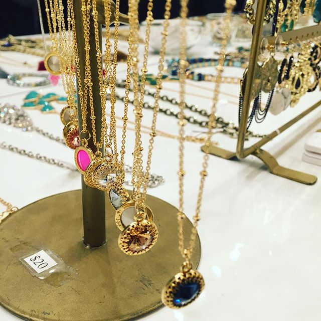 Secret Santa? We've got $20 necklaces at The Union Square Holiday Market. 🎄