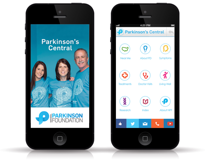 Click on the photo to go to the National Parkinson's Foundation page about Parkinson's Central.