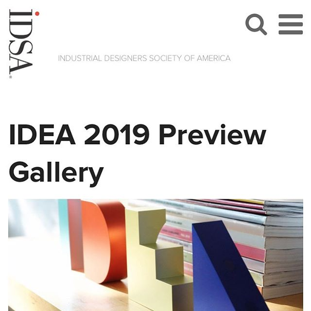 Unbelievably excited to say that my design group made this list, as an IDEA 2019 Gold award winner! 🙌🏻 More details to come after the awards ceremony on August 21st #humbled #industrialdesign #idea2019 #idsa #productdesign