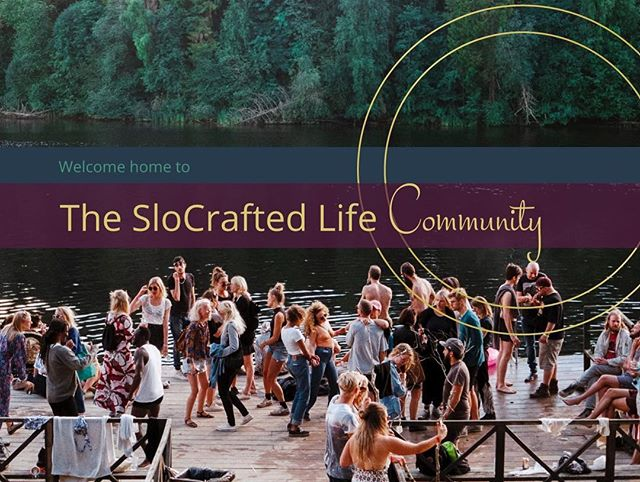 Wonderful conversations about values-based living have begun at The SloCrafters Community page. Add your voice: https://facebook.com/groups/2293575247588358?ref=share #makeadifference #community #valuesbasedliving #slocraftlife