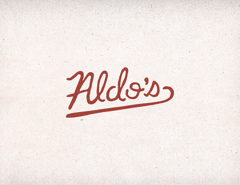 Aldo's Pizza Pies Logo