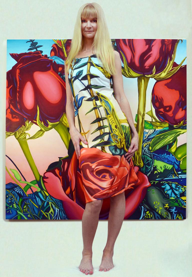 Rose Dress by Anne Gudrun