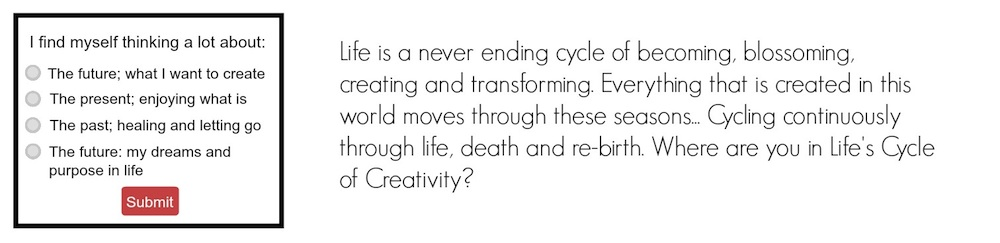 Creativity Quiz