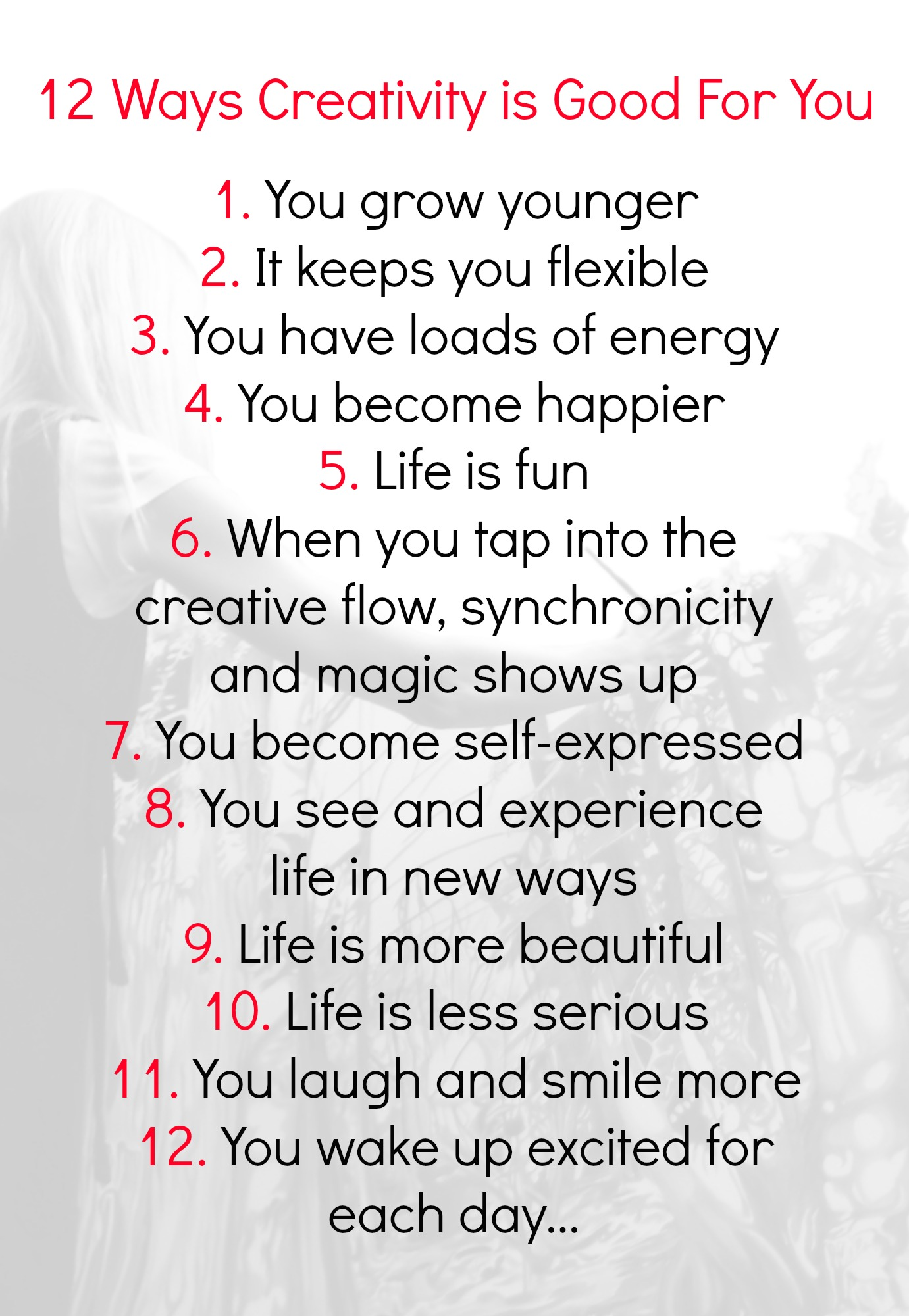 12 Ways Creativity Is Good For You