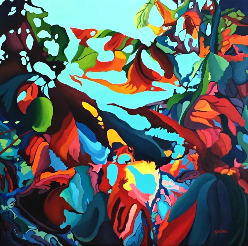 Anne Gudrun Abstract