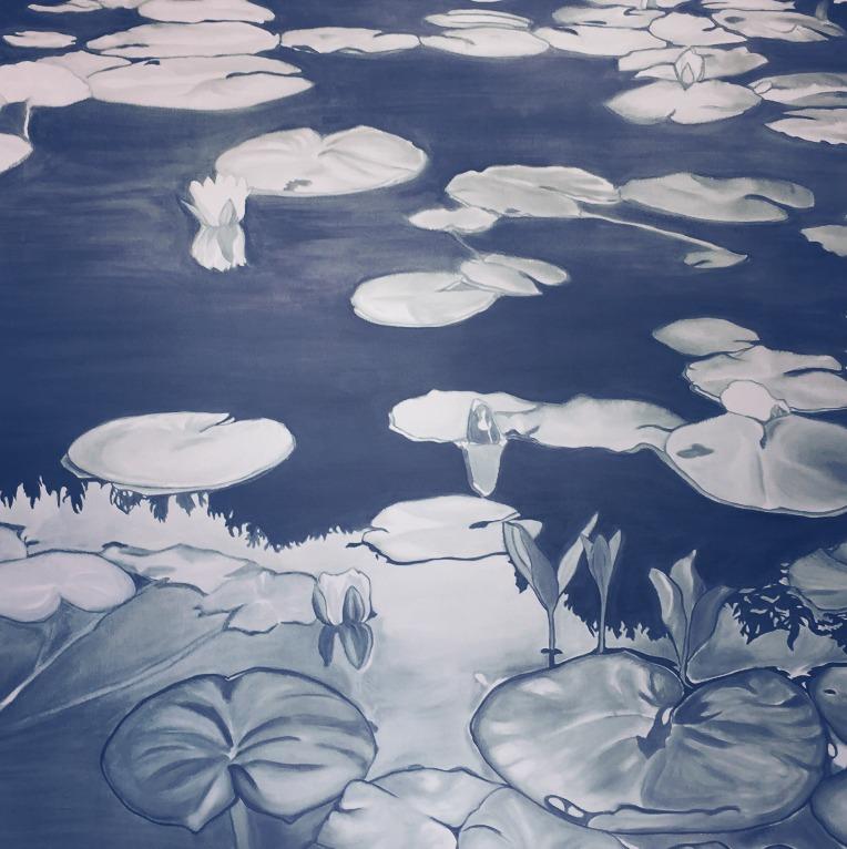 water-lilies-work-in-progess