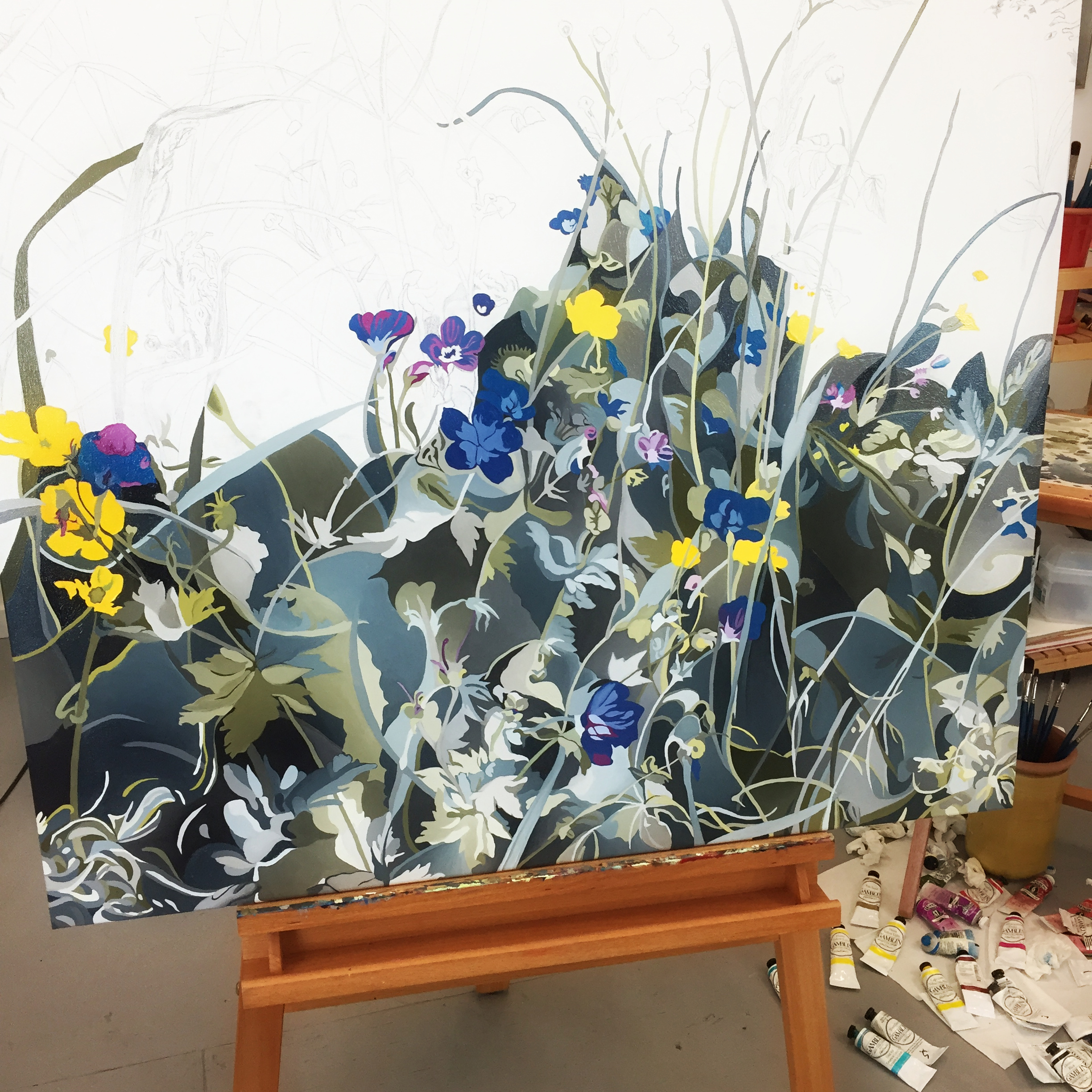 Hope For The Flowers - work in progress