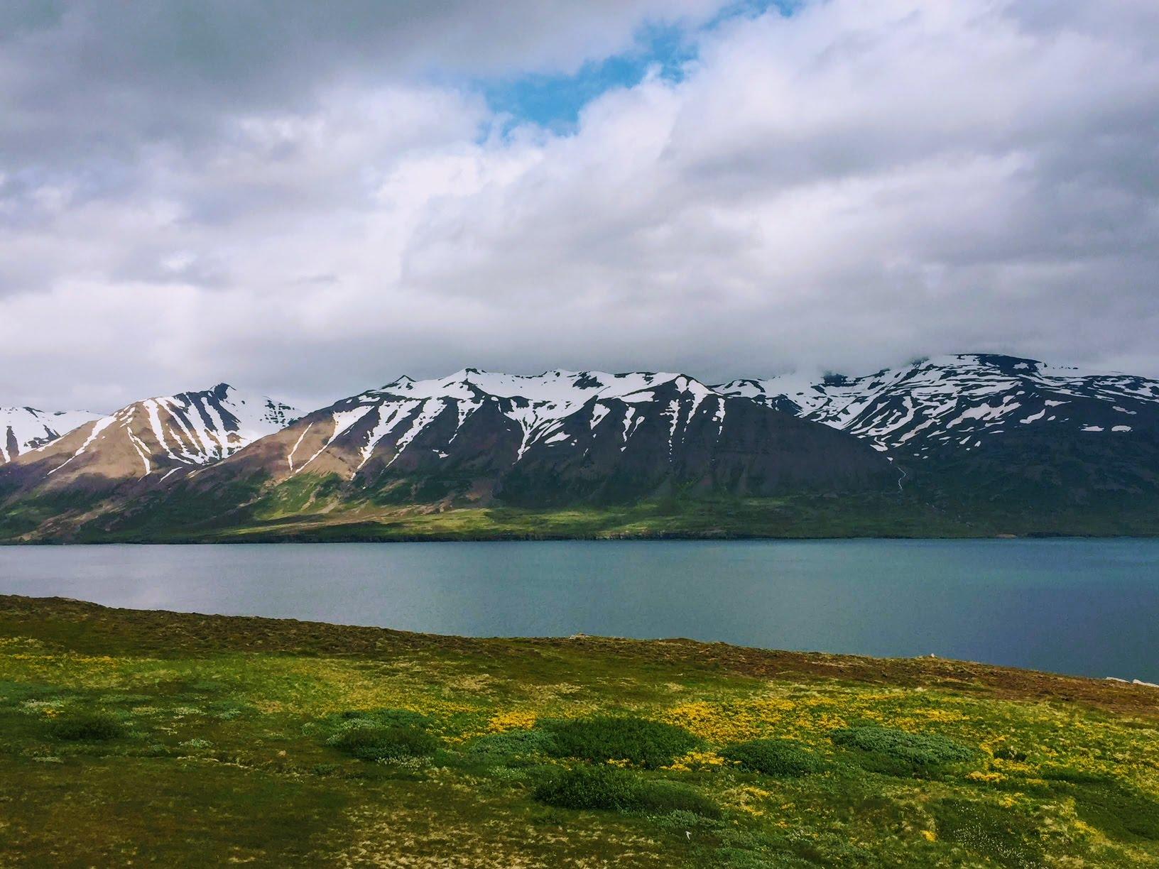 Hrisey-mountains