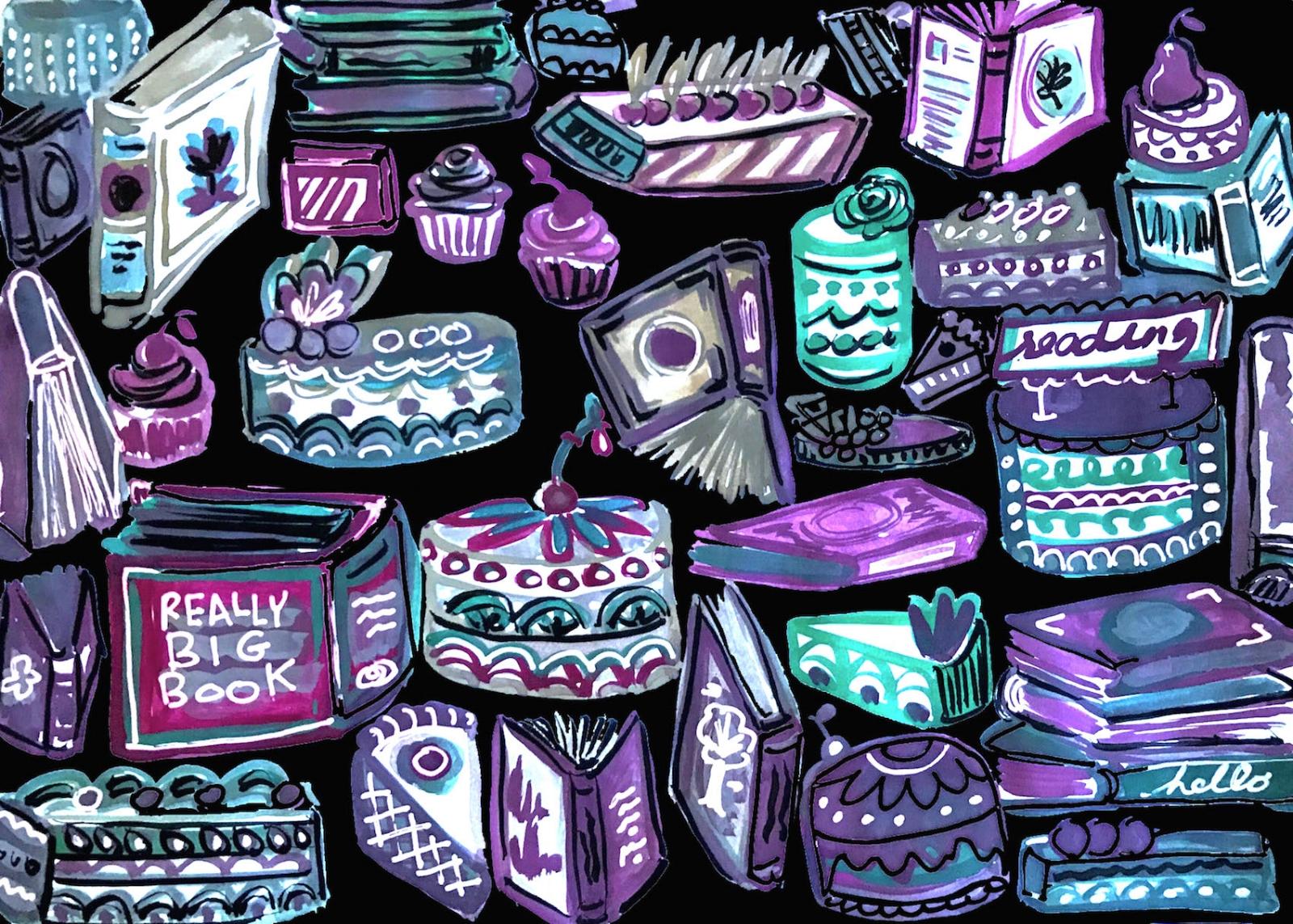 purplegreen_booksandcakes_filled.jpg