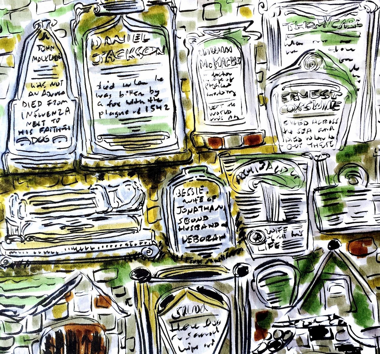 Greyfriars Kirkyard cemetery, Edinburgh