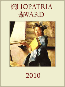 The Cliopatria Awards - given by History News Network - acknowledge the best in history blogging. The nominations are currently open, and will be until the end of November.       http://hnn.us/blogs/47.html    Previous awards and nominations have led me to new blogs and some fascinating posts. Anyone can nominate, so get involved!   Further twitterstorians:    @  kaleighbradley        @thelostmark       @_hannahwill       @tonahangen       @cpsbattlefield       @jasminakgriffin        @Millicentsomer       @littlewolfofLDN       @DrFrond         And some museums to follow:    @RaggedSchool  - Ragged School Museum    @BrightonMuseums  - Brighton and Hove Museums and Art Galleries    @HistoryMuseum  - Washington State History Museum