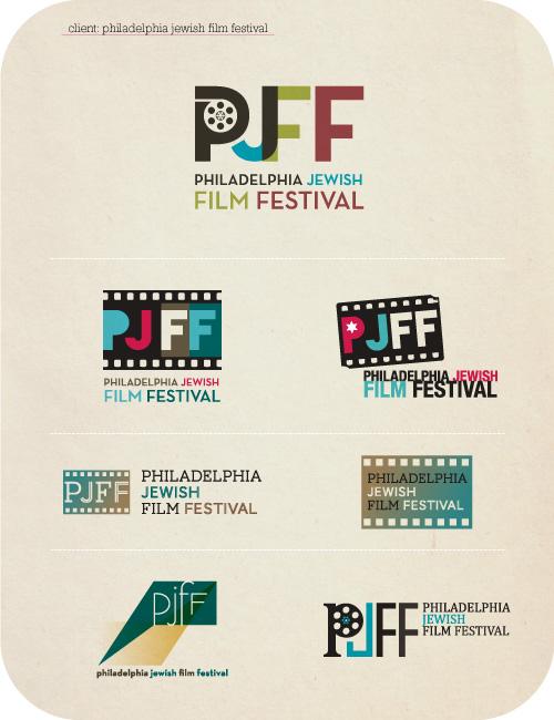 Copy of Logo Concepts for Philadelphia Jewish Film Festival