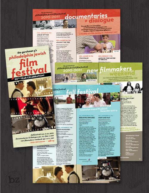 Copy of Philadelphia Jewish Film Festival Brochure