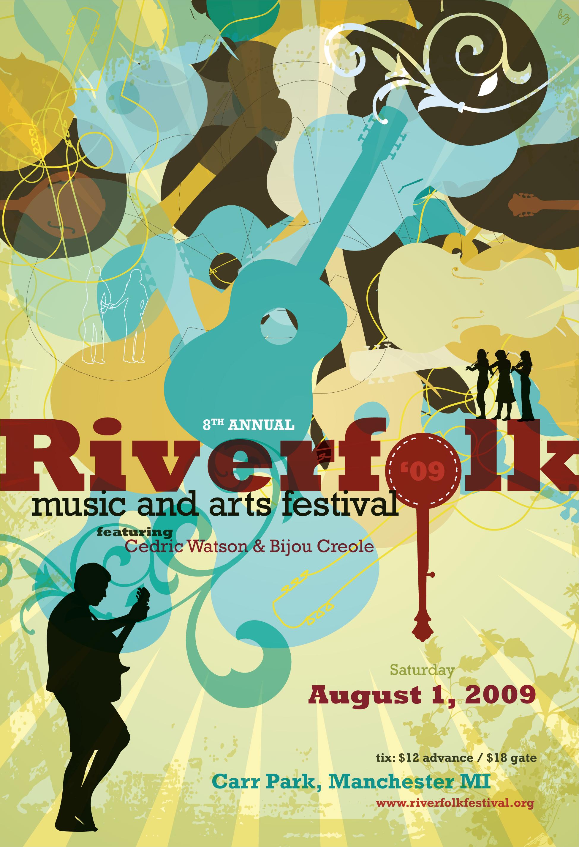 Copy of Riverfolk Festival Poster Design