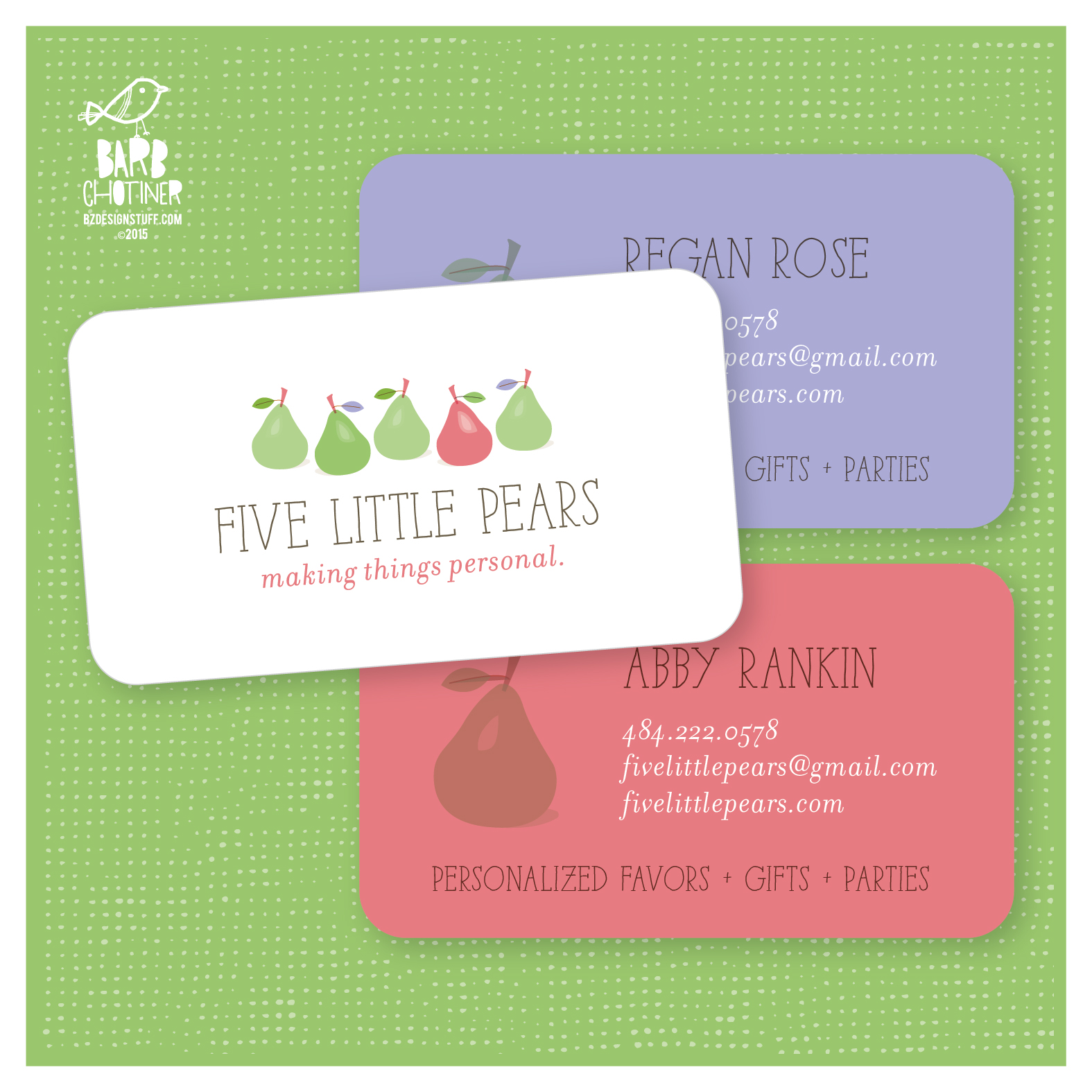 Copy of Branding for Five Little Pears