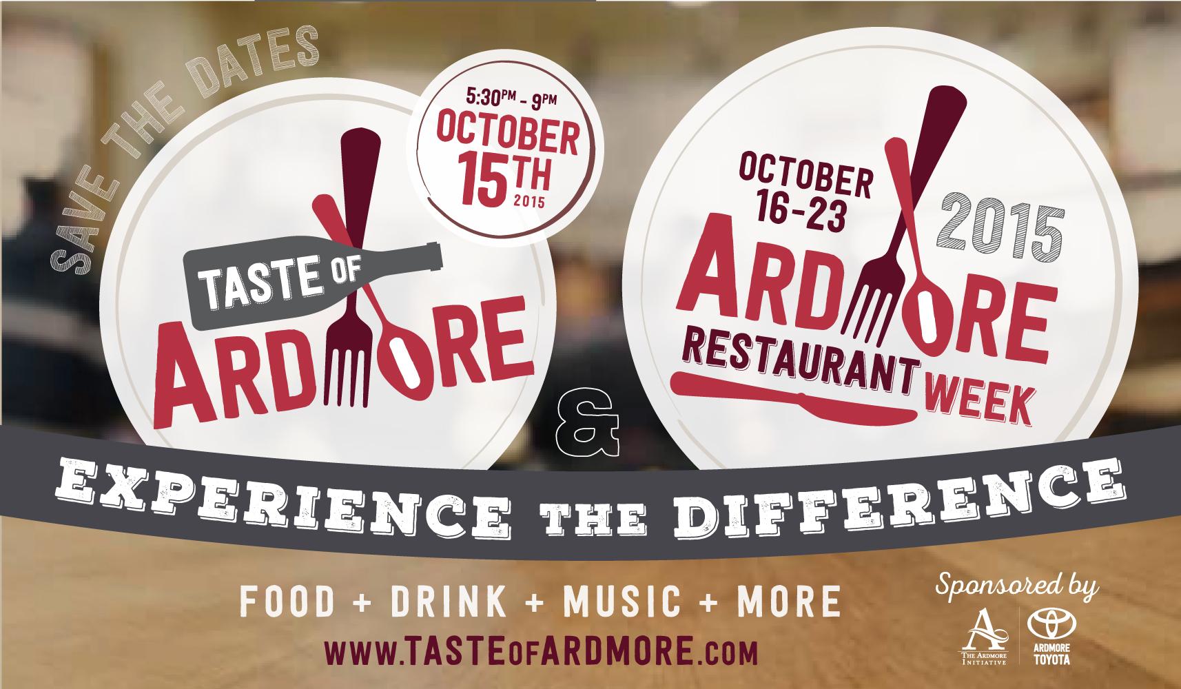 Copy of Logo Design for Taste of Ardmore