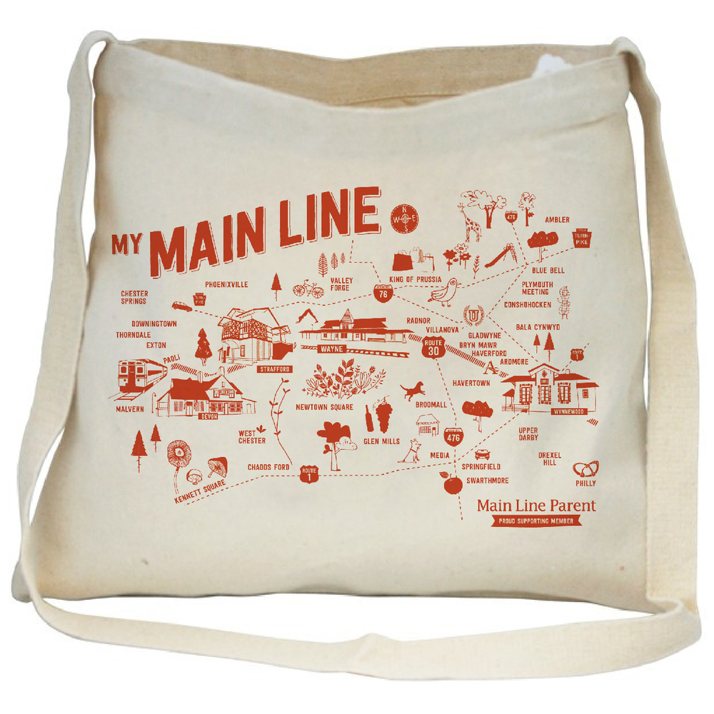Mainline Parent tote bag
