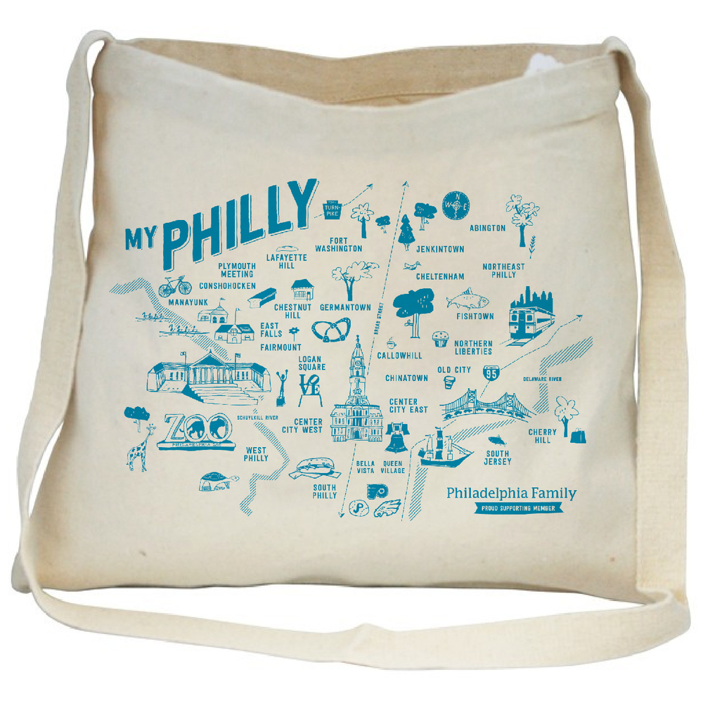 Philly Family tote bag