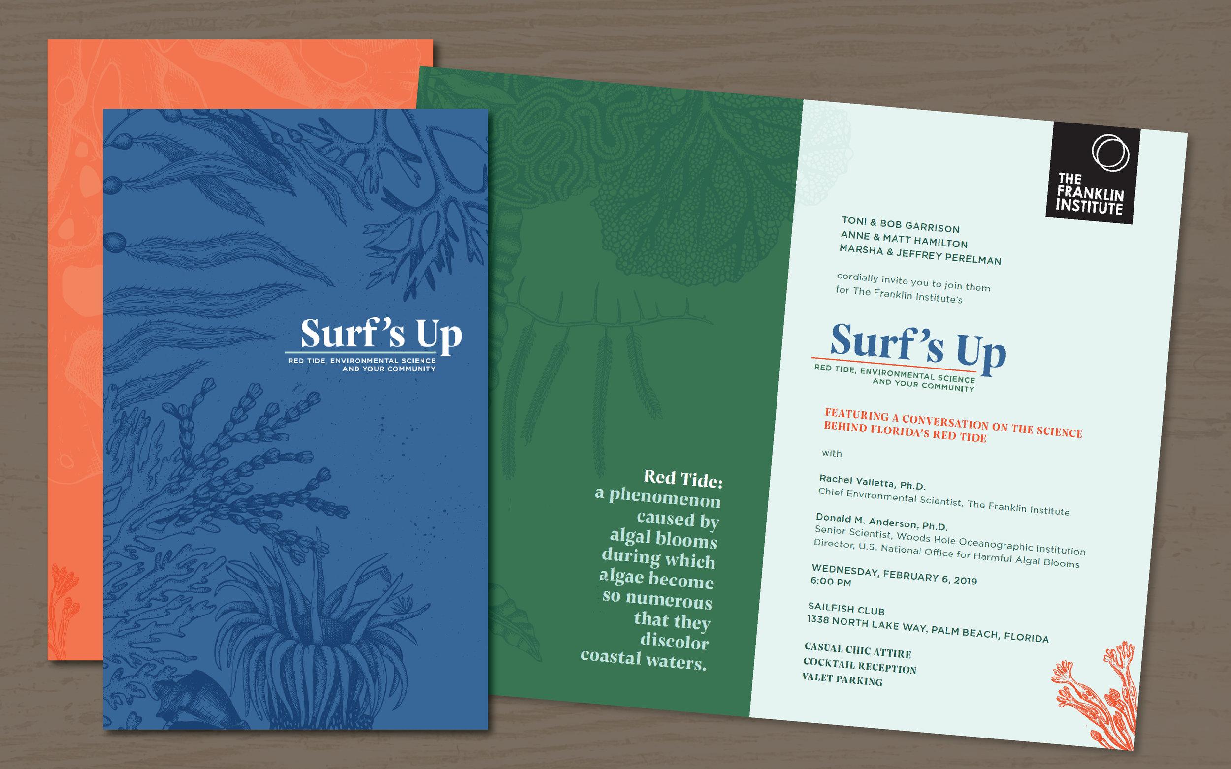 Surf's Up Invitation