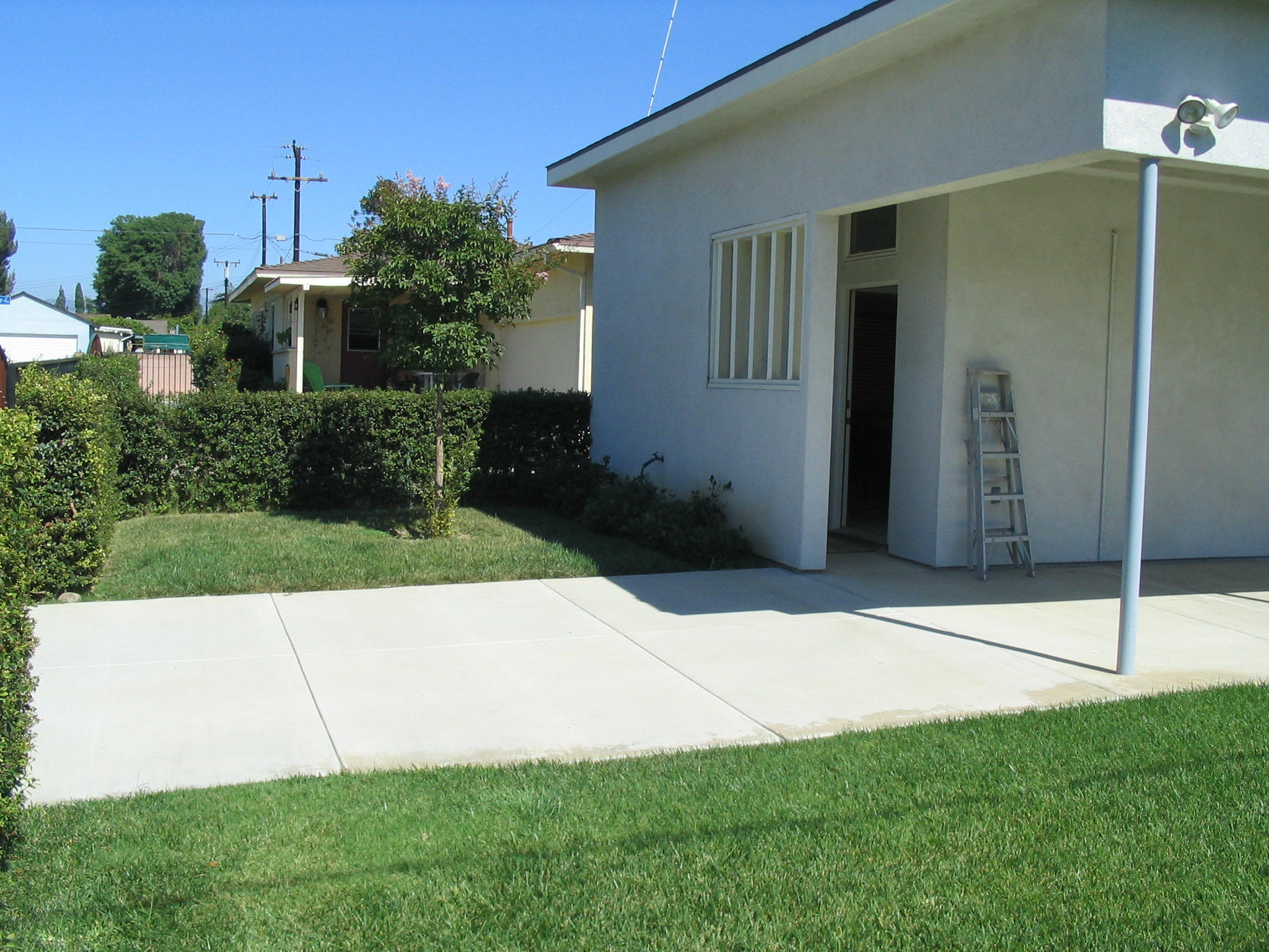 Existing Driveway