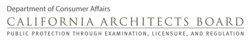 The DCA Regulates Licensure in Architecture