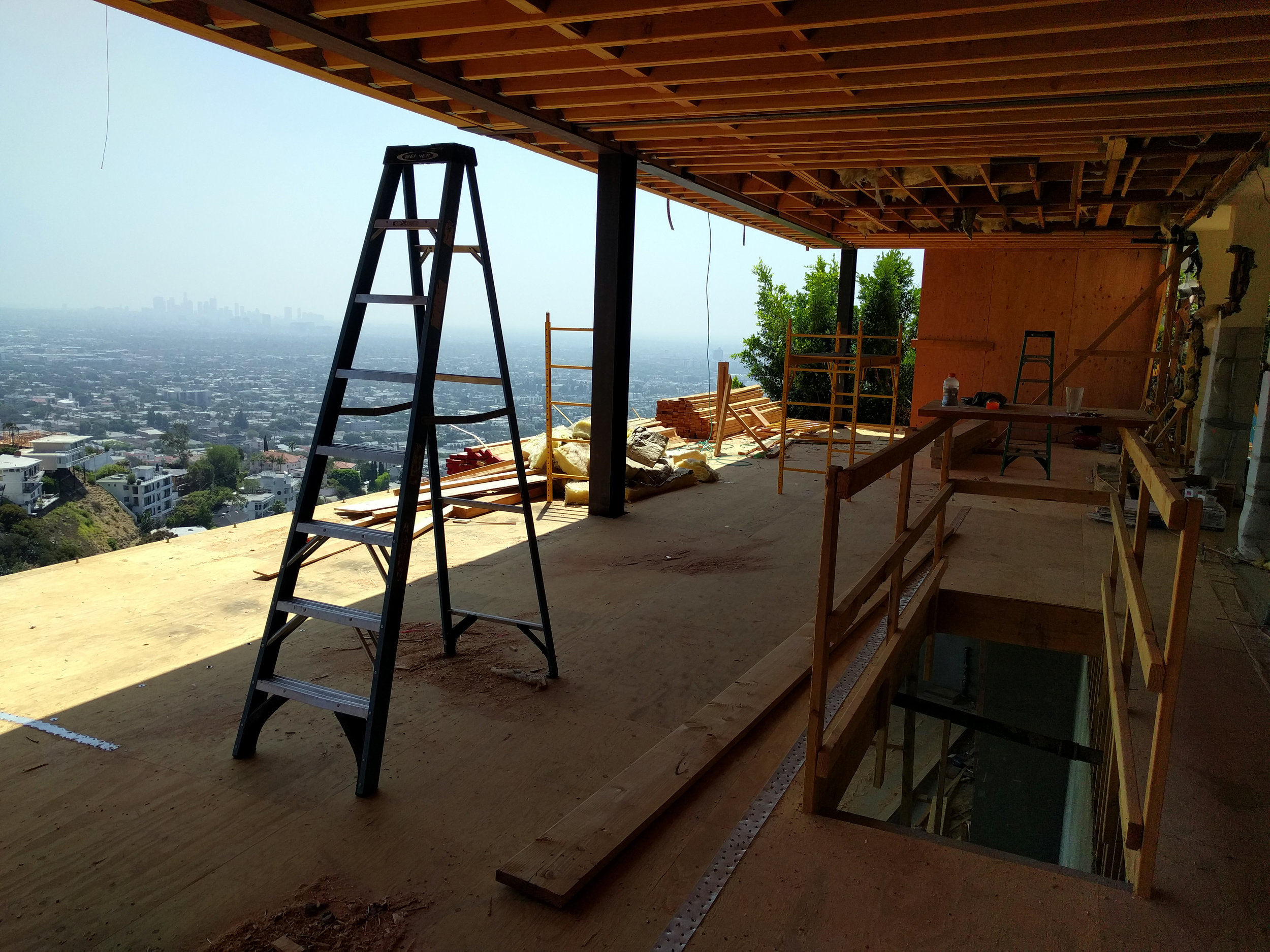 Main Level. All framing is new and replaces all existing framing.