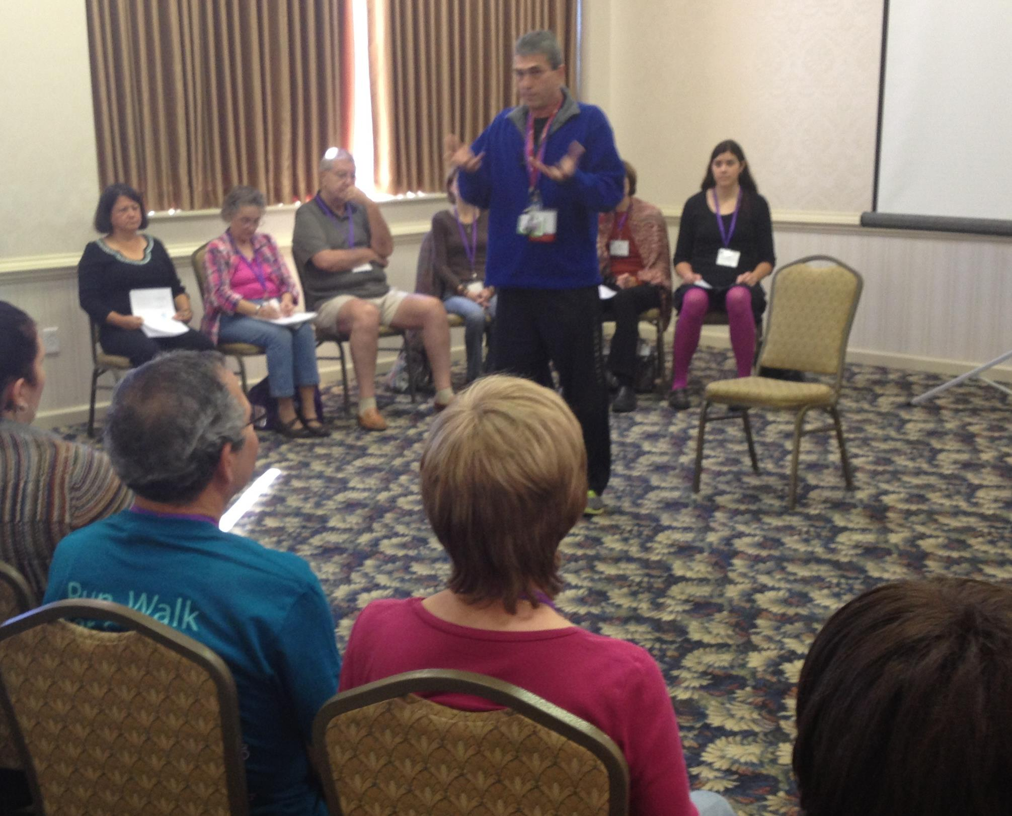 Rami led two capacity filled sessions at the 2013 Thyca Conference in Philadelphia.