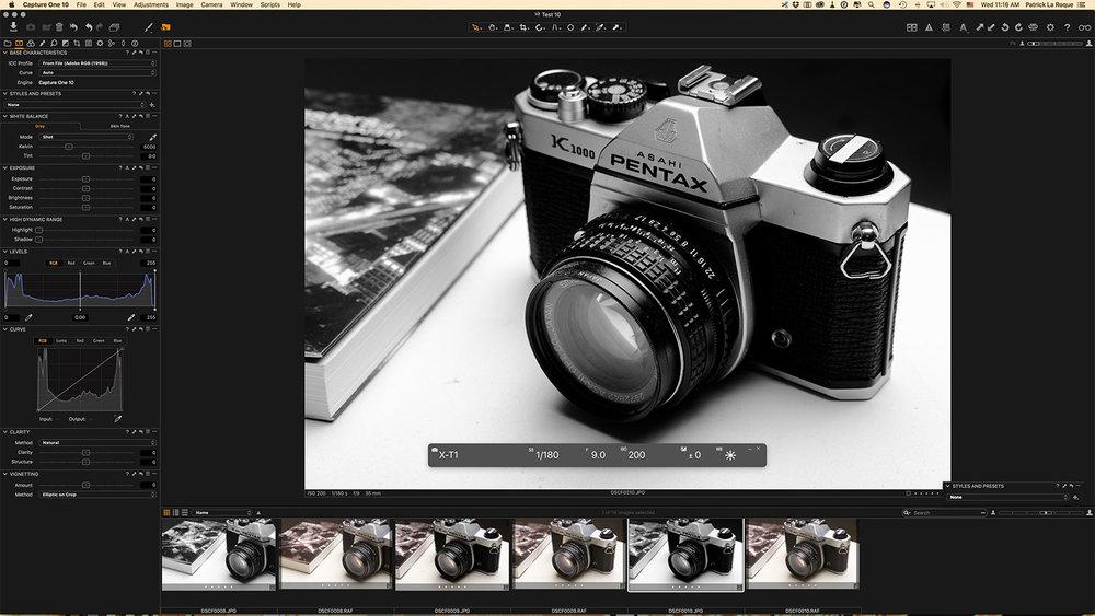Speed Tethering: Fujifilm X Acquire — laROQUE - photographe