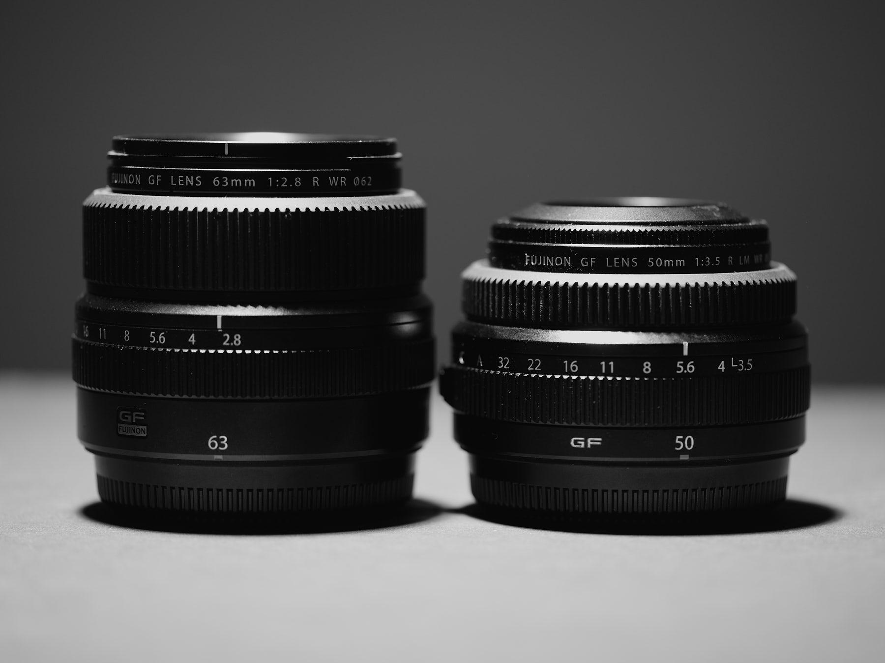 GF 63mm vs GF 50mm—Twins…as in DeVito/Schwarzenegger.