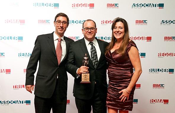 We Won! The 2015 Reggie Award for our Fall Parade Home! -September 2015