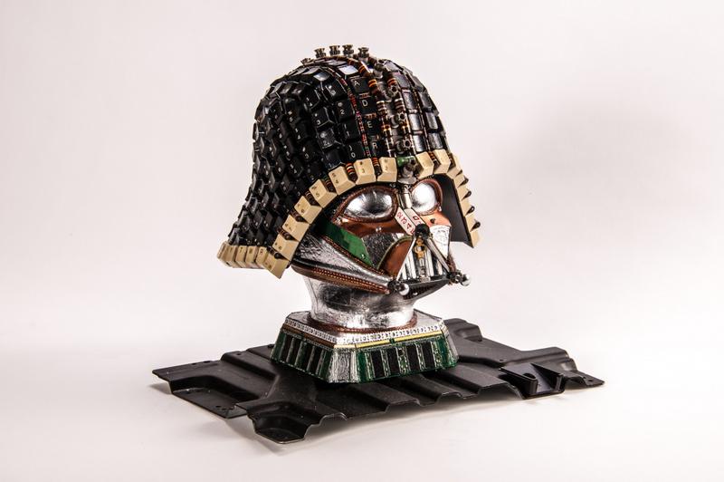 Darth Vader Upcycled #3