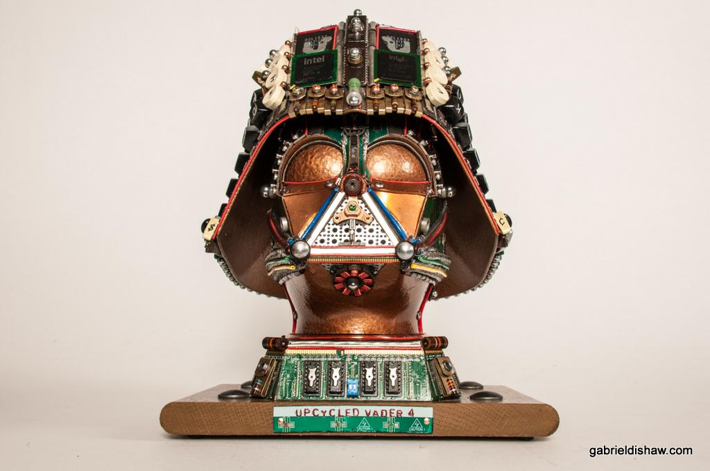 Darth Vader Upcycled #4