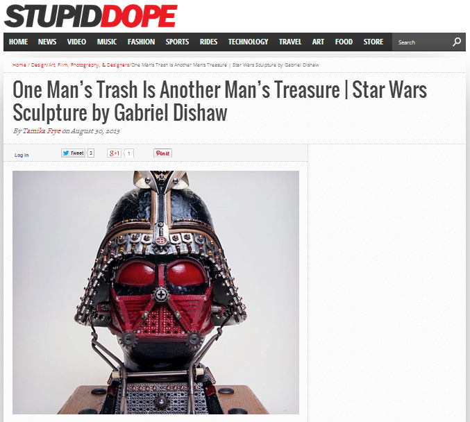 Featured on Stupiddope.com -