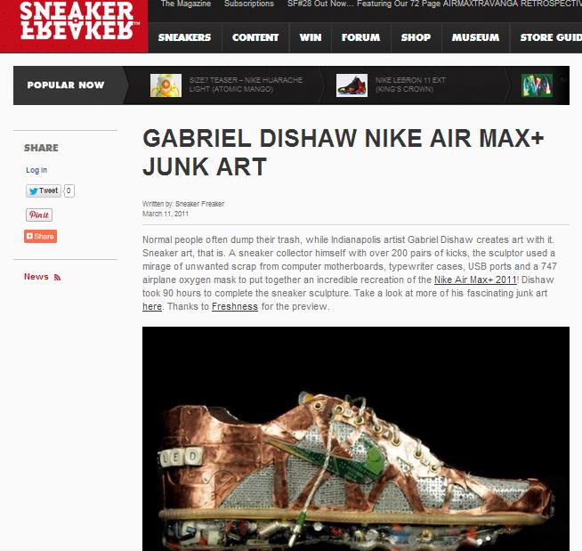 Featured:  Sneakerfreaker.com