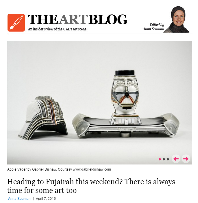 Featured on www.thenational.ae -