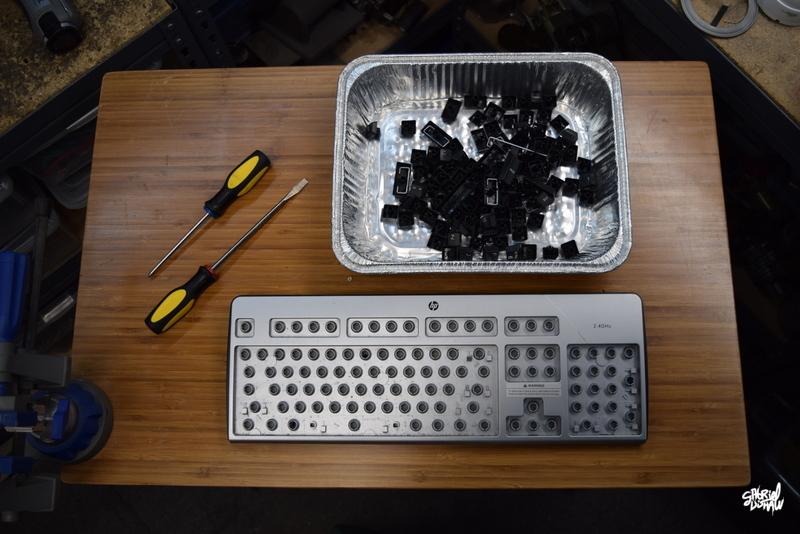Step 5 - Organize Keys from 2nd Keyboard