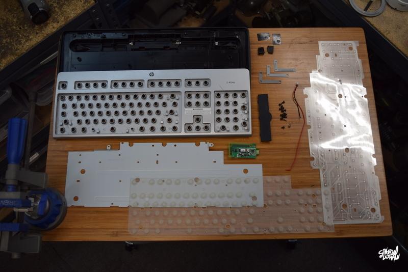 Step 6 - Take Apart the 2nd Keyboard Base