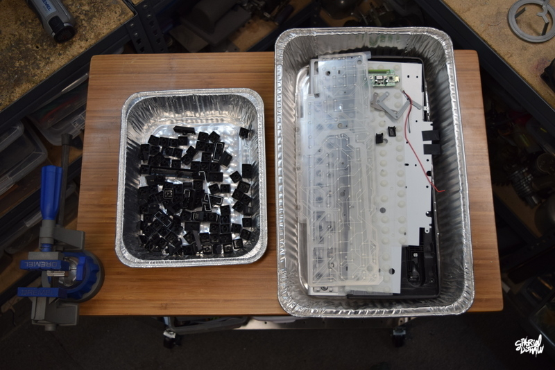 Step 7 - Organize Materials from 2nd Keyboard