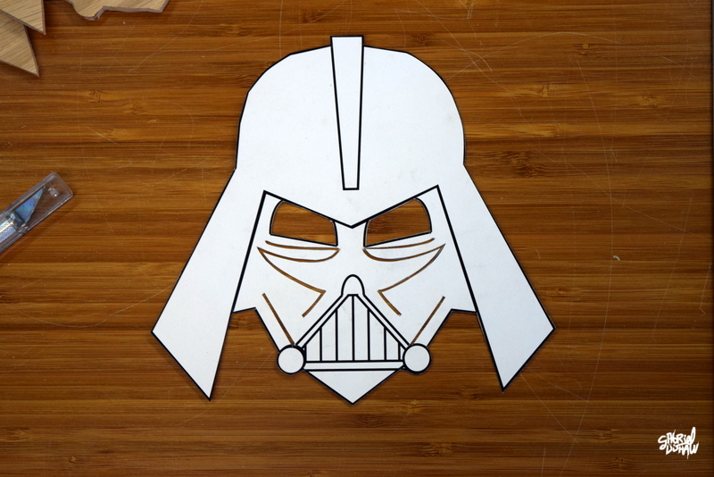 Example - Vader Cut Out