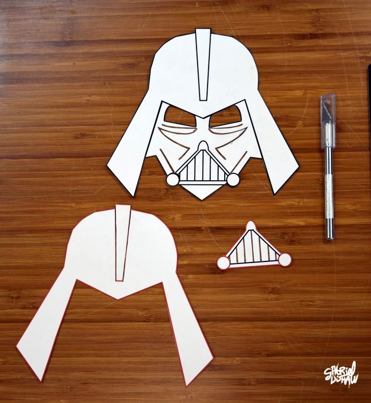 Homemade Darth Vader helmet - YouTube | 800x738