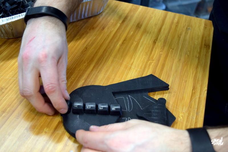Example - Glued Keys