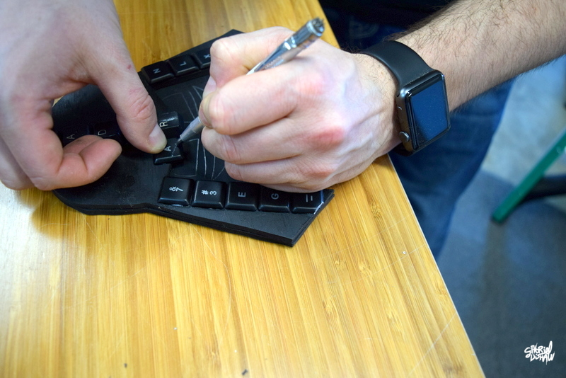 Step 5 - Cutting Keys to Fit