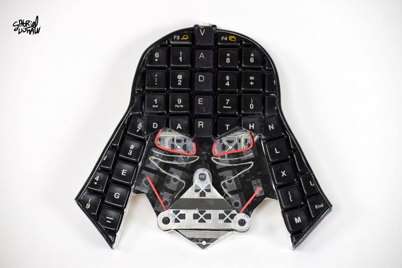 Upcycled Keyboad Vader -3.JPG