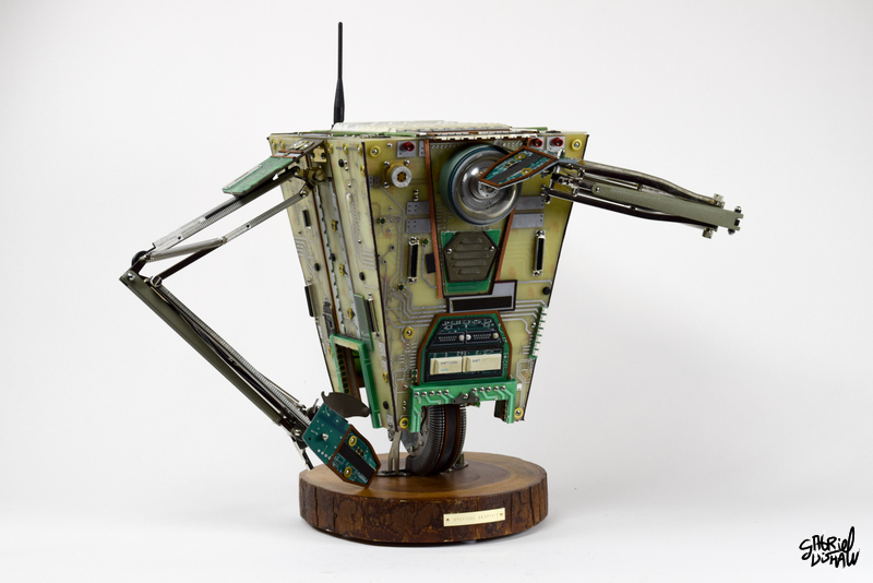 Upcycled Claptrap -