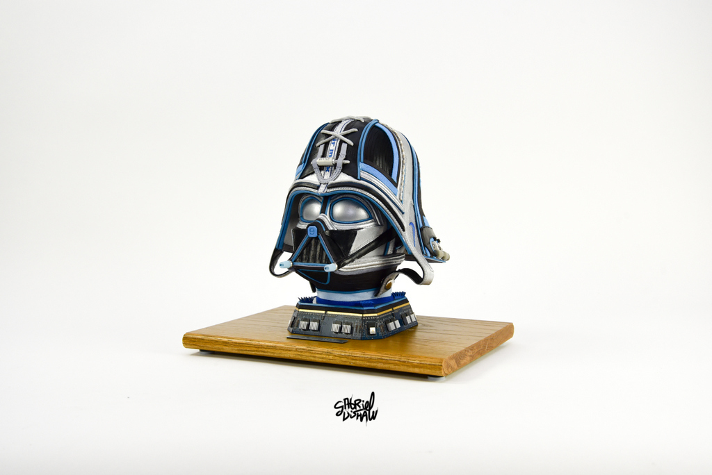 Gabriel Dishaw - Upcycled Air Max 97 Darth Vader