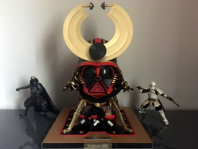 Samurai on Display at Clients Home