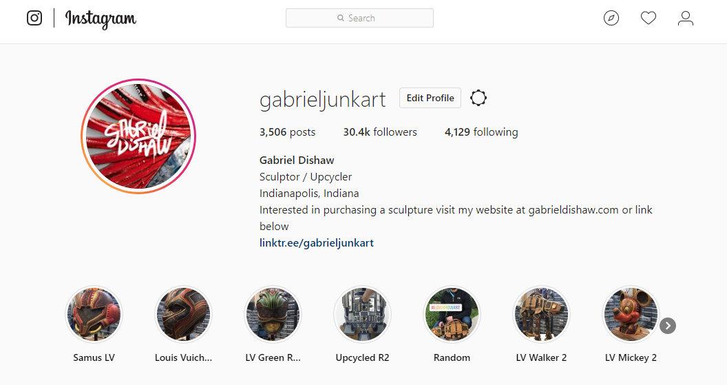 Gabriel Dishaws instagram account screen grab.jpg