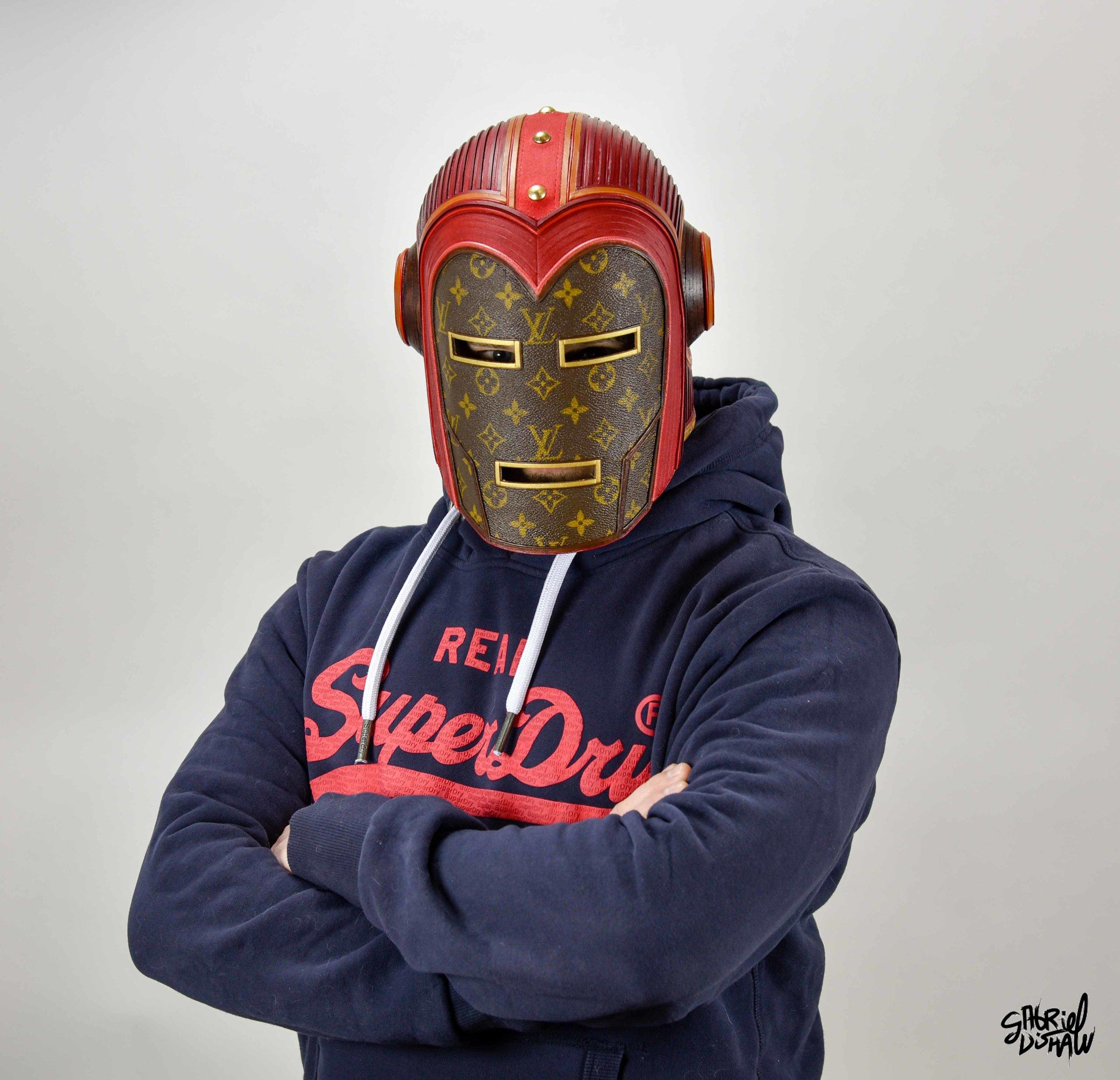 Gabriel Dishaw wearing Vintage Iron Man LV-0285.jpg