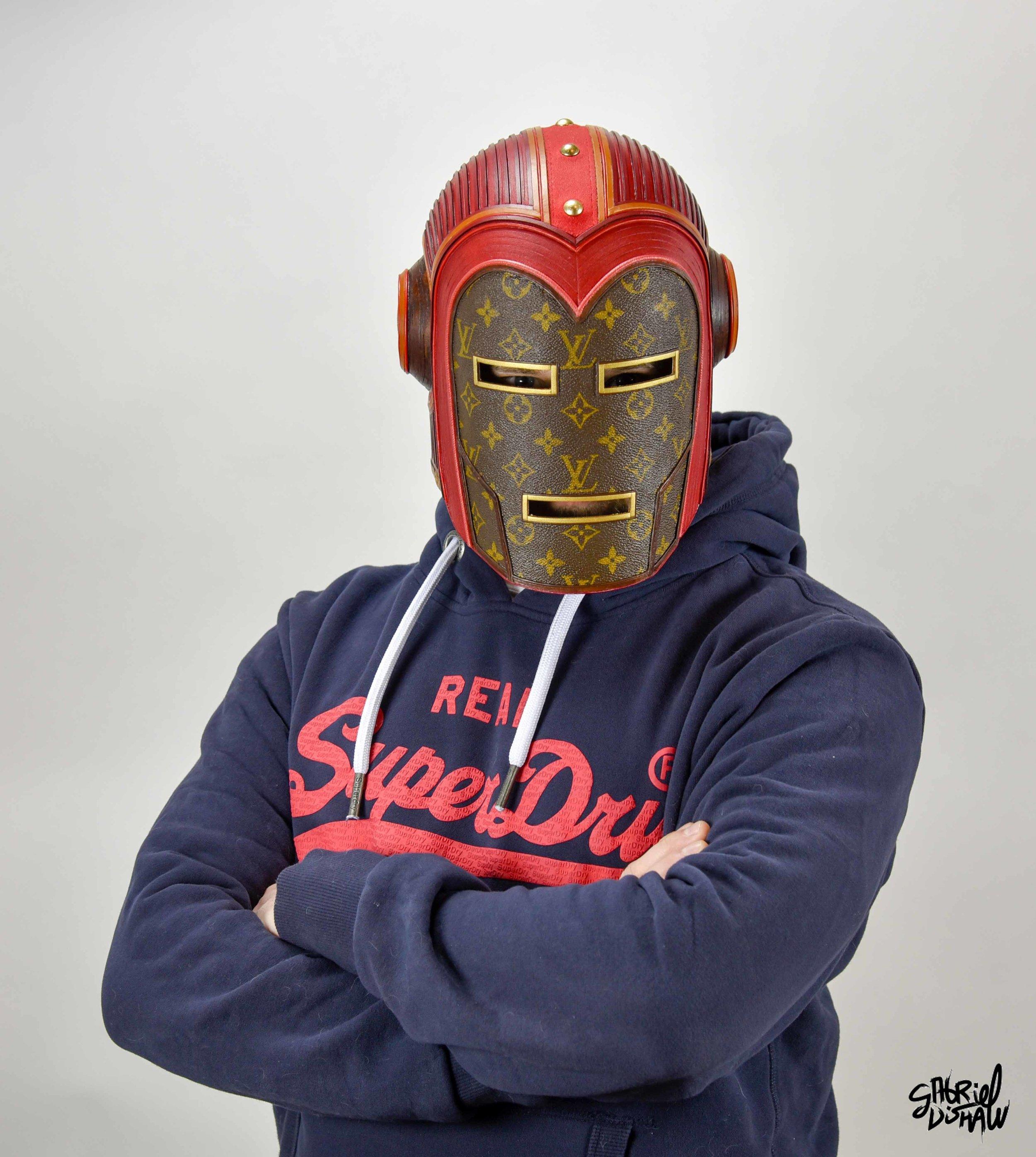 Gabriel Dishaw wearing Vintage Iron Man LV-0287.jpg